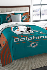 NORTHWEST Miami Dolphins Draft Full/Queen Comforter Set