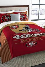 NORTHWEST San Francisco 49ers Draft Full/Queen Comforter Set