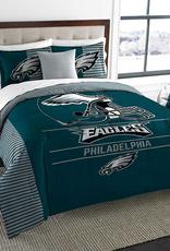 NORTHWEST Philadelphia Eagles Draft Full/Queen Comforter Set