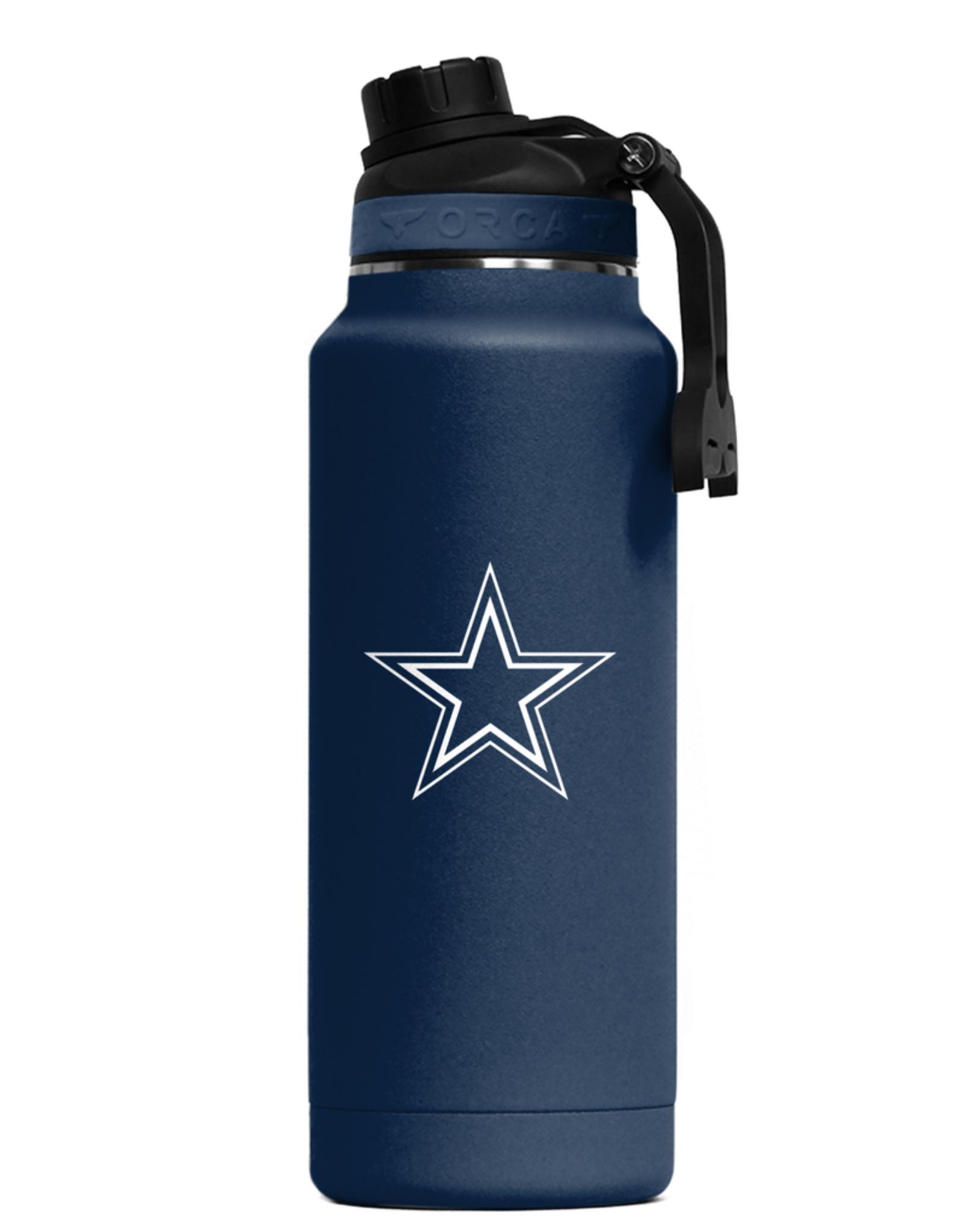 ORCA COOLERS Dallas Cowboys Orca 34oz Hydra Bottle
