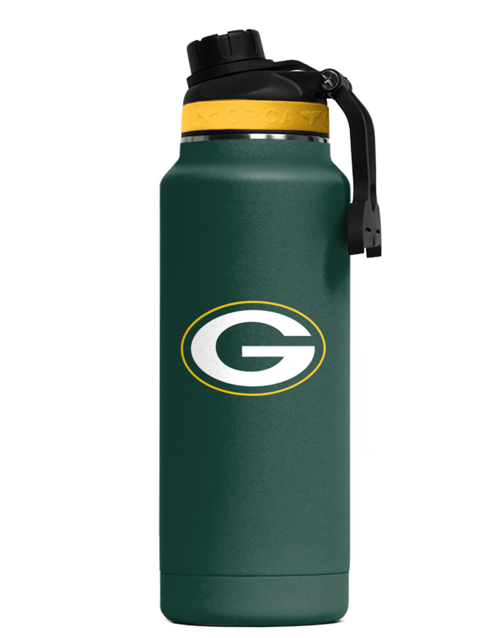 ORCA COOLERS Green Bay Packers Orca 34oz Hydra Bottle