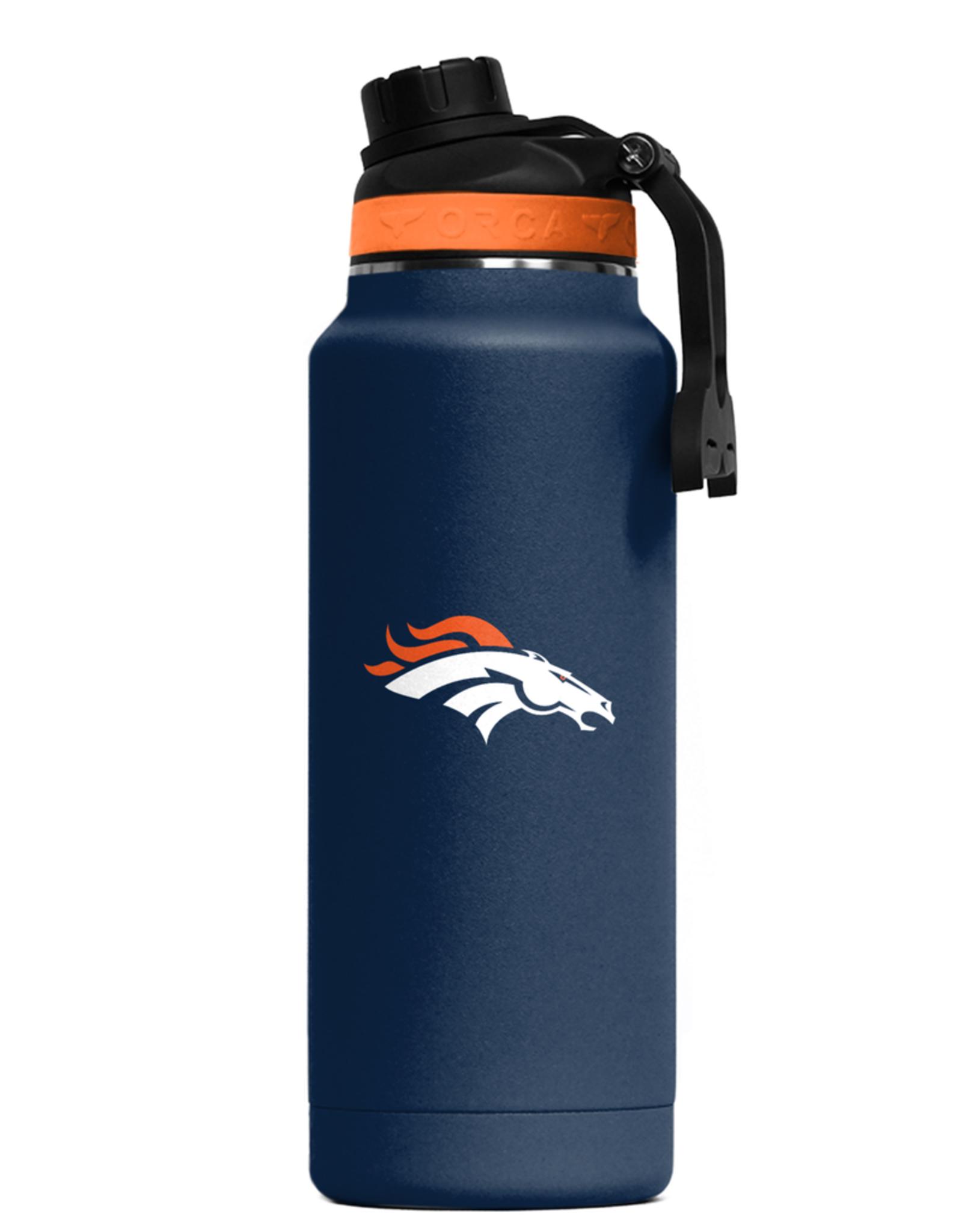 ORCA COOLERS Denver Broncos Orca 34oz Hydra Bottle