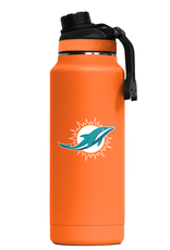 ORCA COOLERS Miami Dolphins Orca 34oz Hydra Bottle