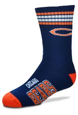 FOR BARE FEET Chicago Bears Youth Stripe Deuce Socks
