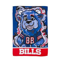 EVERGREEN Buffalo Bills Justin Pattern Garden Flag
