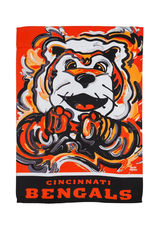 EVERGREEN Cincinnati Bengals Justin Pattern Garden Flag