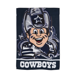 EVERGREEN Dallas Cowboys Justin Pattern Garden Flag