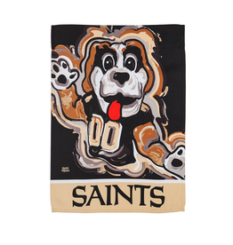 EVERGREEN New Orleans Saints Justin Pattern Garden Flag