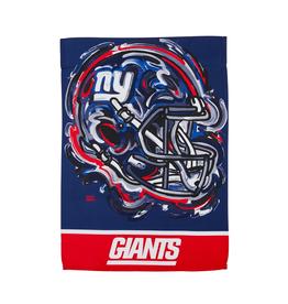 EVERGREEN New York Giants Justin Pattern Garden Flag