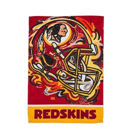EVERGREEN Washington Redskins Justin Pattern Garden Flag