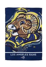 EVERGREEN Los Angeles Rams Justin Pattern Garden Flag