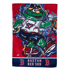 EVERGREEN Boston Red Sox Justin Pattern Garden Flag