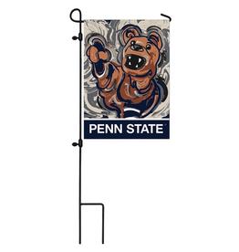 EVERGREEN Penn State Nittany Lions Justin Pattern Garden Flag