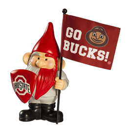 EVERGREEN Ohio State Buckeyes Gnome