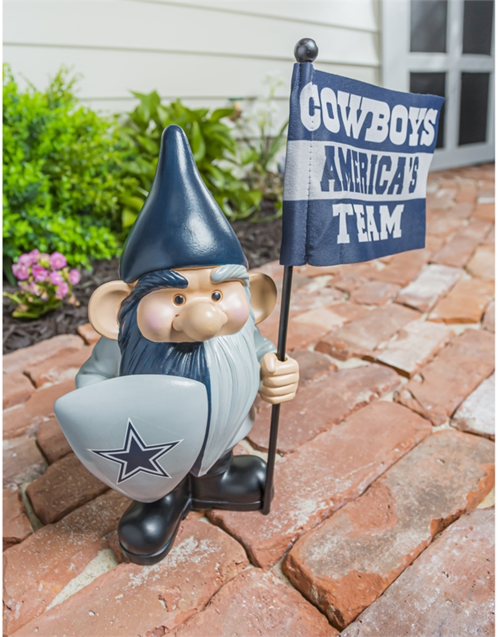EVERGREEN Dallas Cowboys Gnome