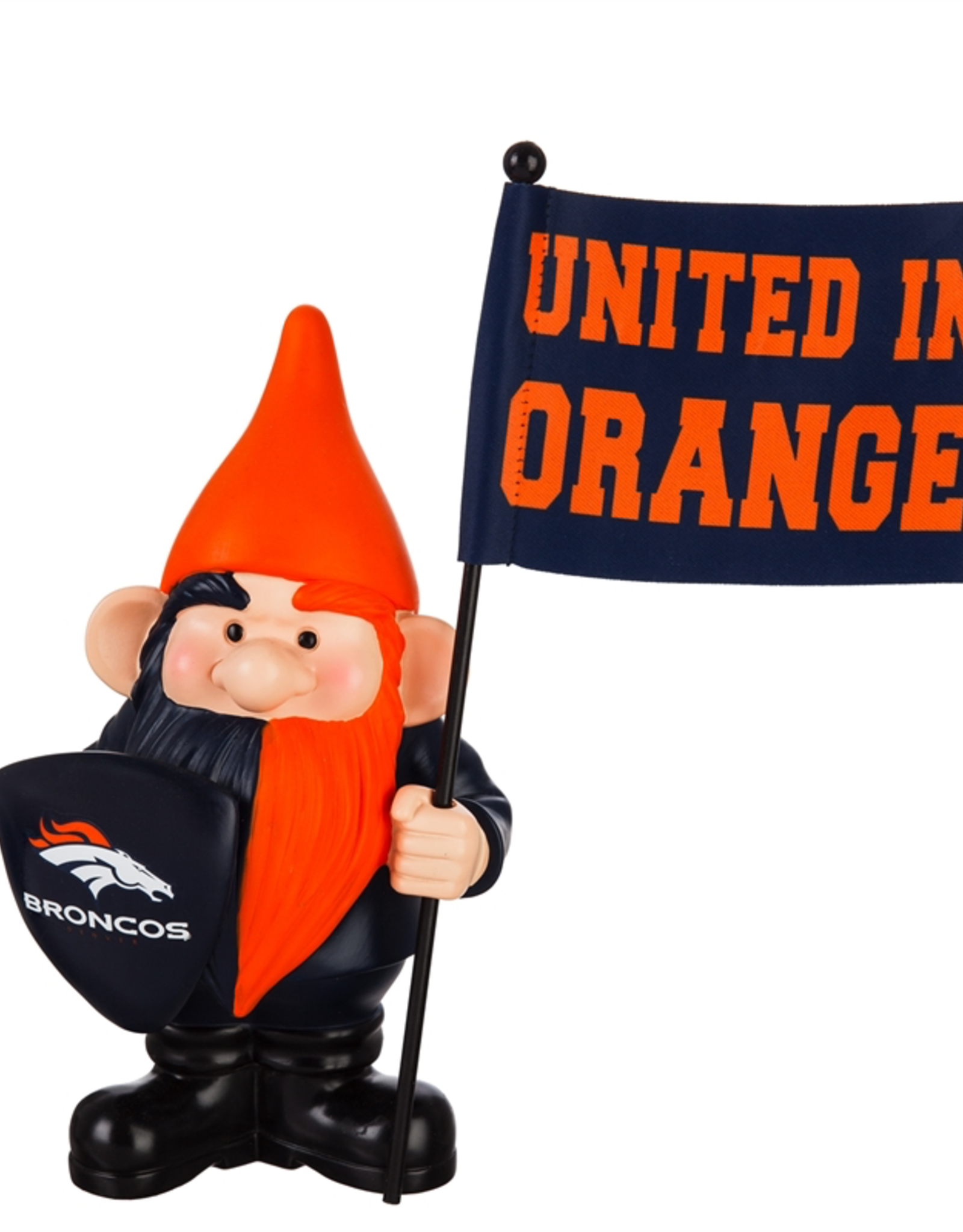 EVERGREEN Denver Broncos Gnome