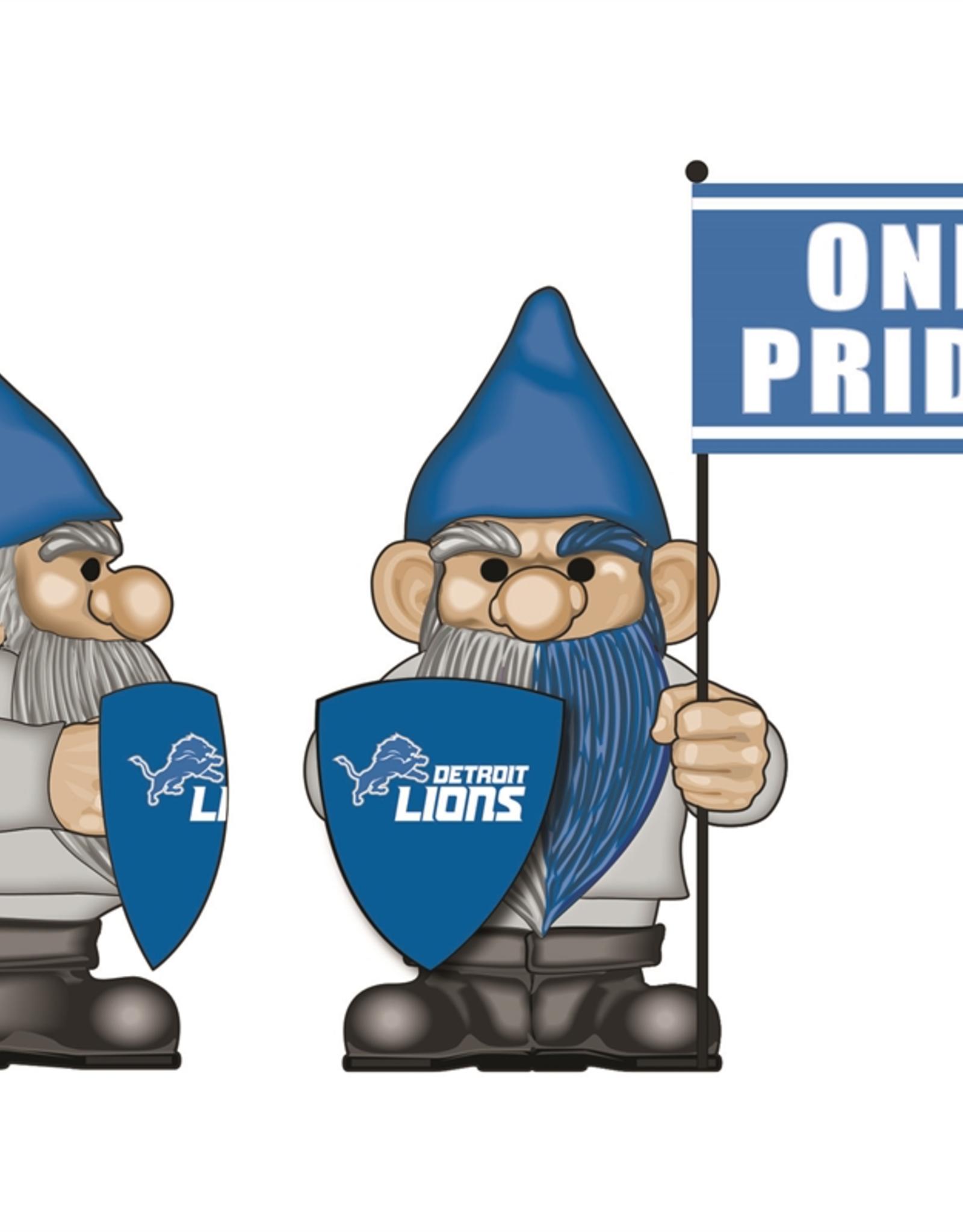 EVERGREEN Detriot Lions Gnome