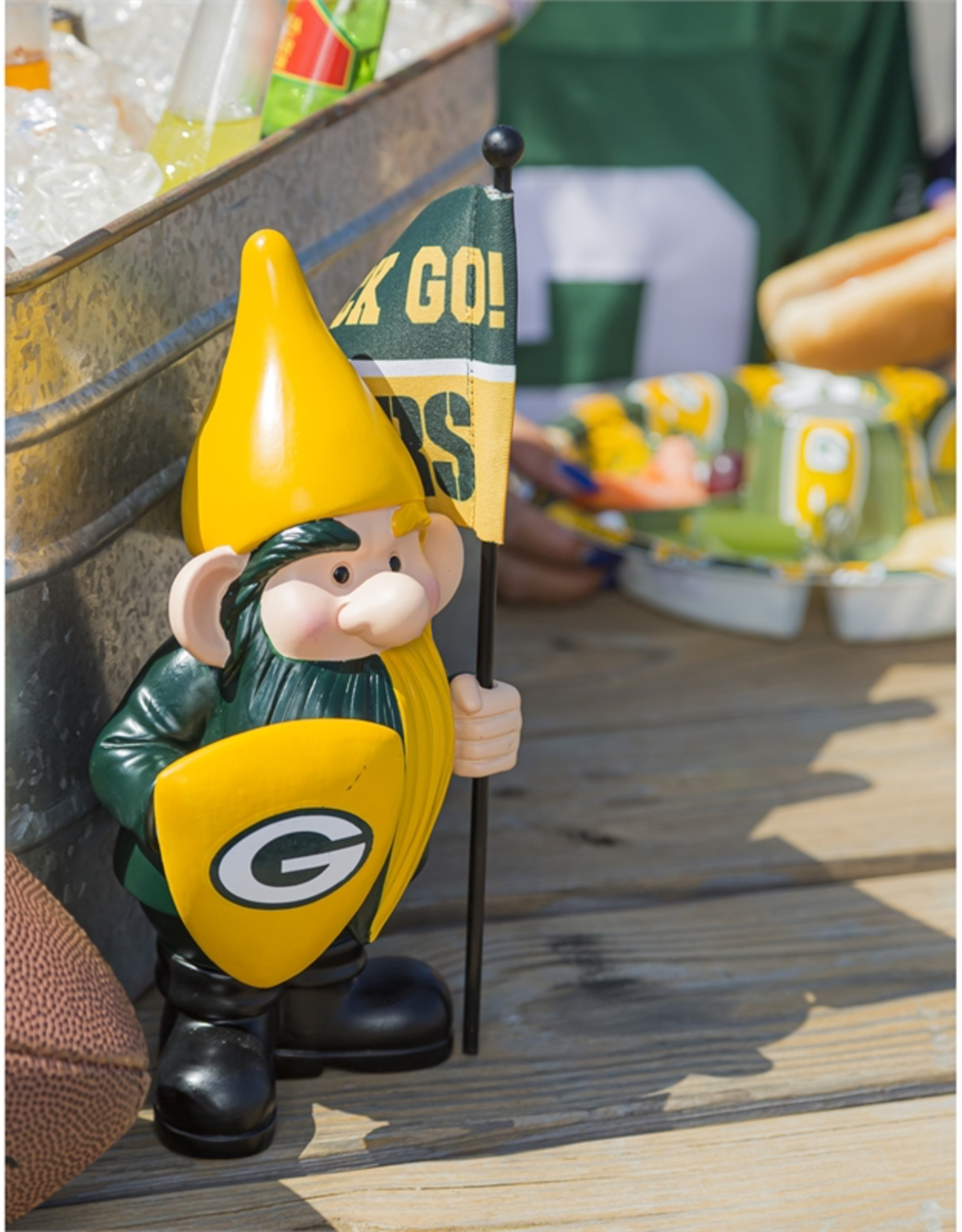 EVERGREEN Green Bay Packers Gnome