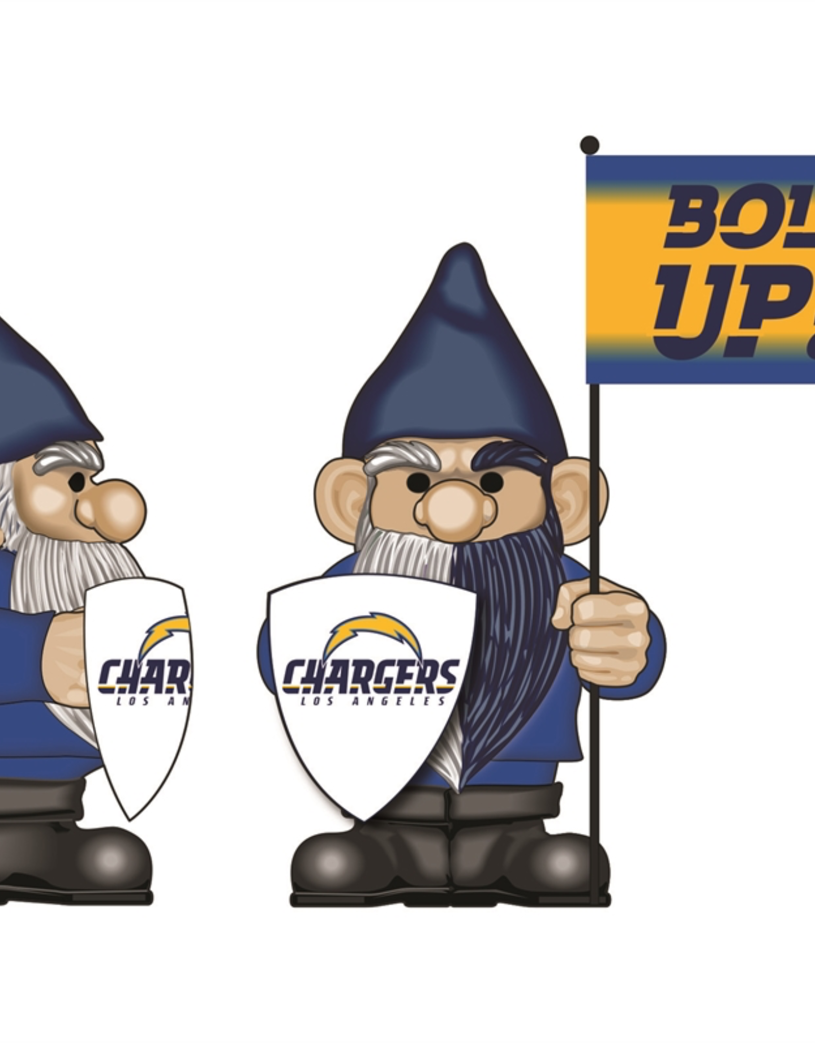 EVERGREEN Los Angeles Chargers Gnome