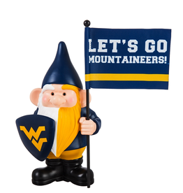 EVERGREEN West Virginia Mountaineers Gnome