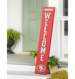 EVERGREEN San Francisco 49ers Porch Leaner