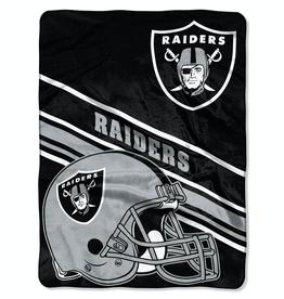 NORTHWEST Oakland Raiders 60in x 80in Silk Touch Throw Wrap