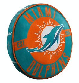"Miami Dolphins 15"" Cloud Pillow"