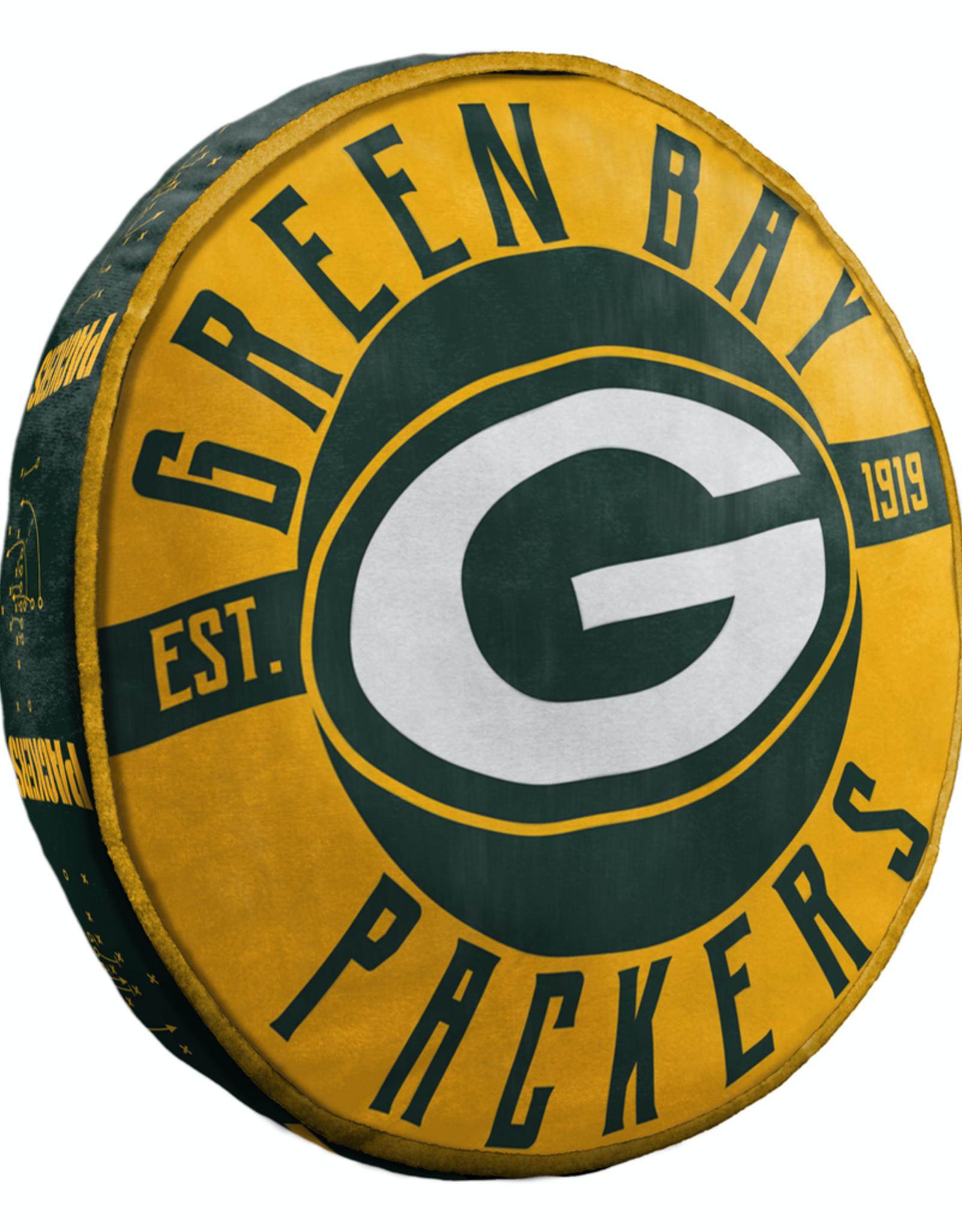 "Green Bay Packers 15"" Cloud Pillow"