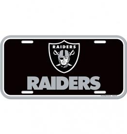 WINCRAFT Las Vegas Raiders Plastic License Plate