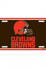 WINCRAFT Cleveland Browns Plastic License Plate