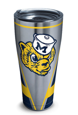 TERVIS Michigan Wolverines 30oz Tervis Stainless Vault Tumbler
