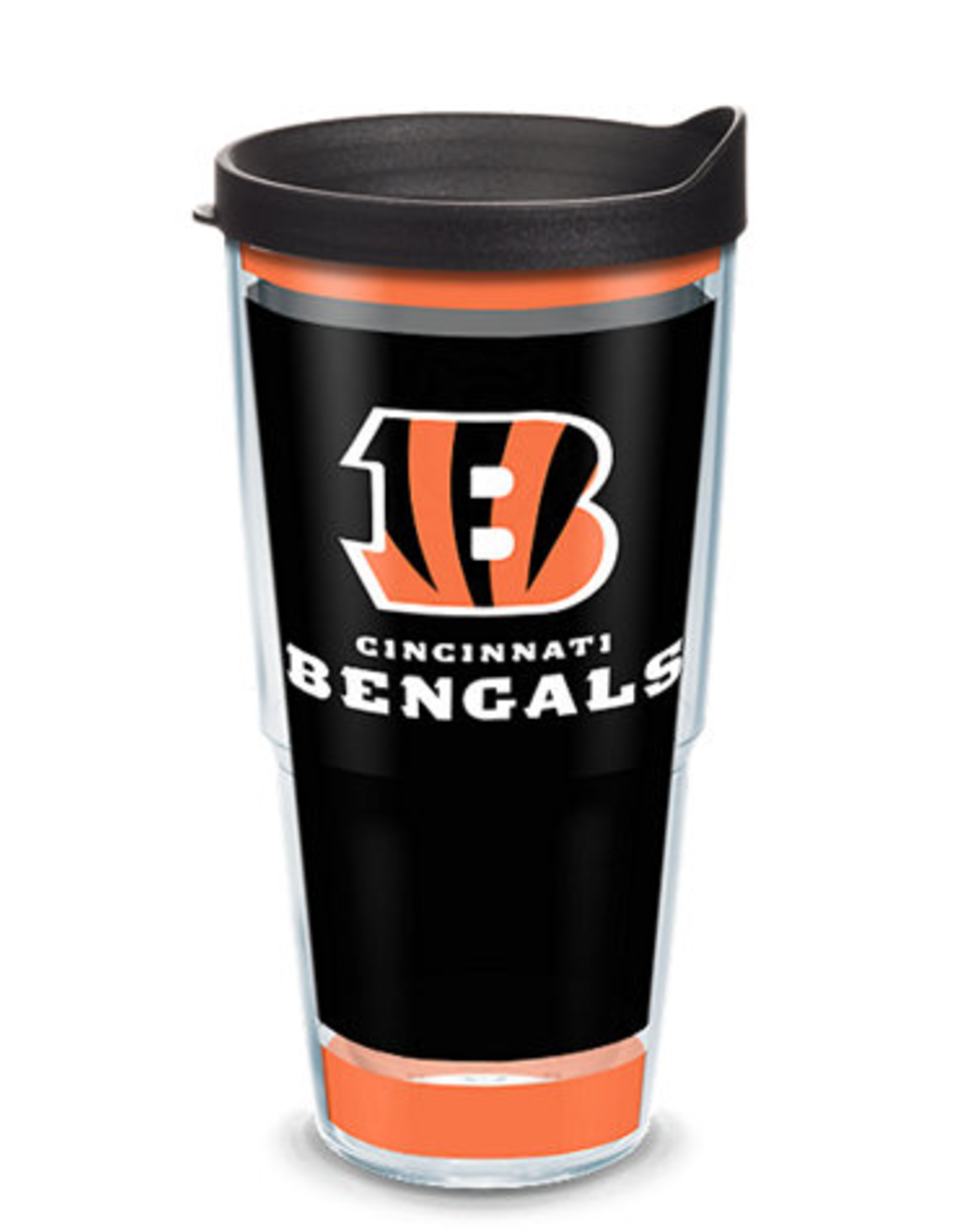 TERVIS Cincinnati Bengals 24oz Tervis Touchdown Wrap Tumbler