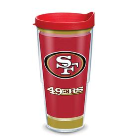 TERVIS San Francisco 49ers 24oz Tervis Touchdown Wrap Tumbler