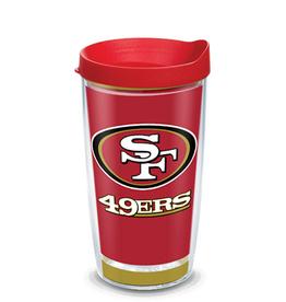 TERVIS San Francisco 49ers 16oz Tervis Touchdown Wrap Tumbler