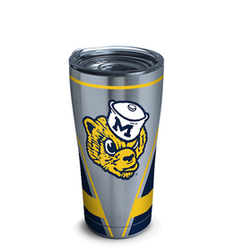 TERVIS Michigan Wolverines 20oz Tervis Vault Stainless Tumbler