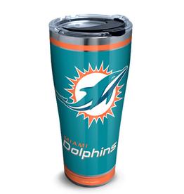 TERVIS Miami Dolphins 30oz Tervis Touchdown Stainless Tumbler