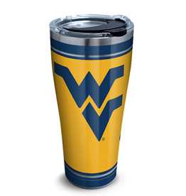 TERVIS West Virginia Mountaineers 30oz Tervis Stainless Campus Tumbler