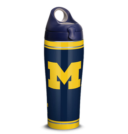 TERVIS Michigan Wolverines 24oz Tervis Campus Stainless Sport Bottle