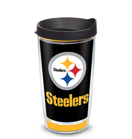 TERVIS Pittsburgh Steelers 16oz Tervis Touchdown Wrap Tumbler