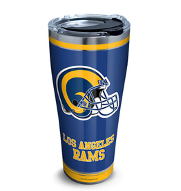 TERVIS Los Angles Rams 30oz Tervis Touchdown Stainless Tumbler