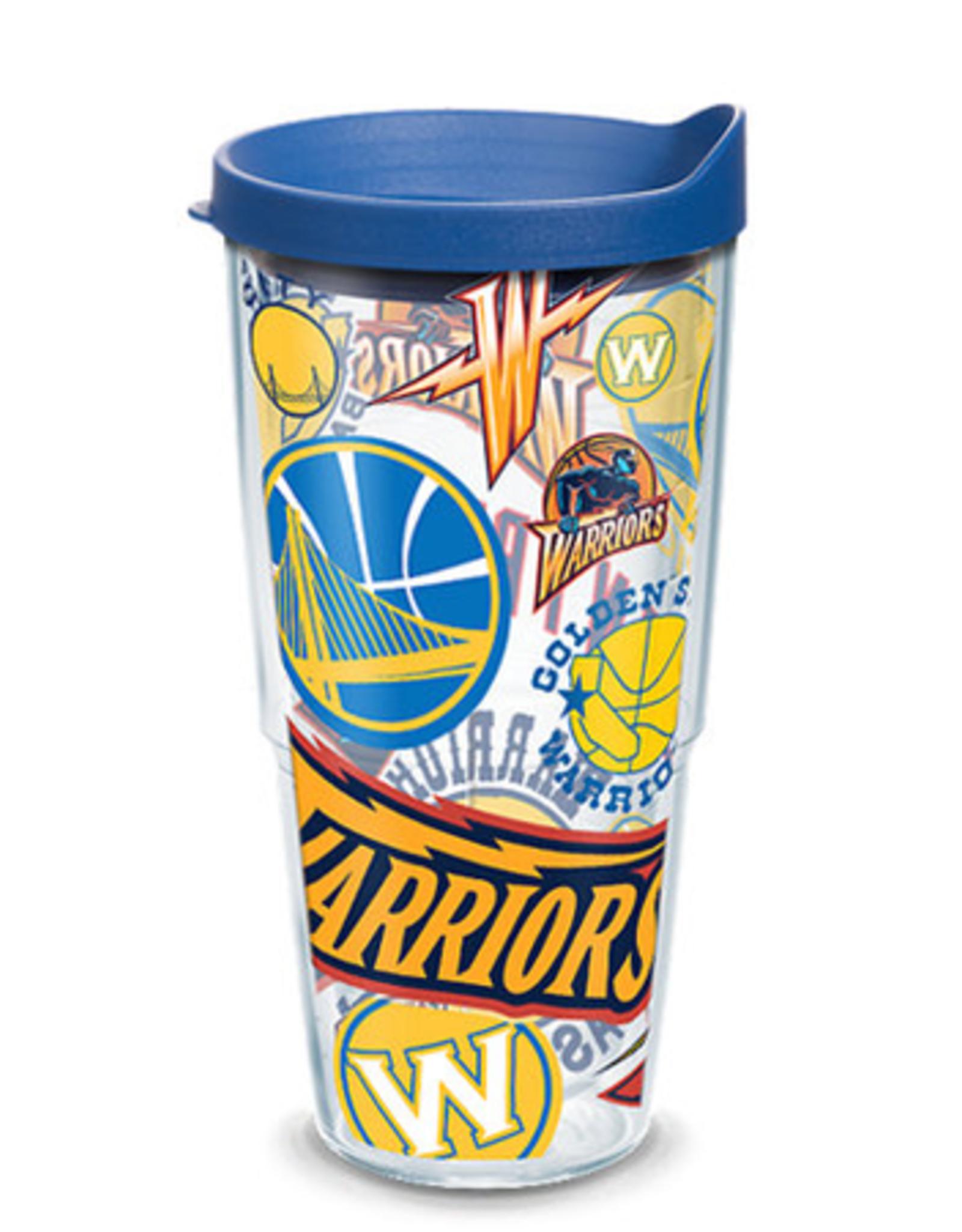 TERVIS Golden State Warriors 24oz Tervis All Over Print Tumbler