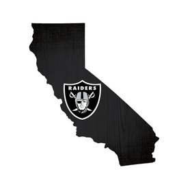 FAN CREATIONS Las Vegas Raiders Team Logo State Sign