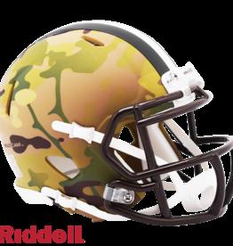 RIDDELL Cleveland Browns Riddell CAMO Alternate Mini Speed Helmet