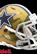 RIDDELL Dallas Cowboys Riddell CAMO Alternate Mini Speed Helmet