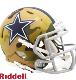 RIDDELL Dallas Cowboys Riddell CAMO Alternate Mini Speed Helmet