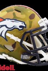 RIDDELL Denver Broncos Riddell CAMO Alternate Mini Speed Helmet
