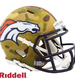 RIDDELL Denver Broncos Riddell CAMO Alternate Mini Speed Helmet