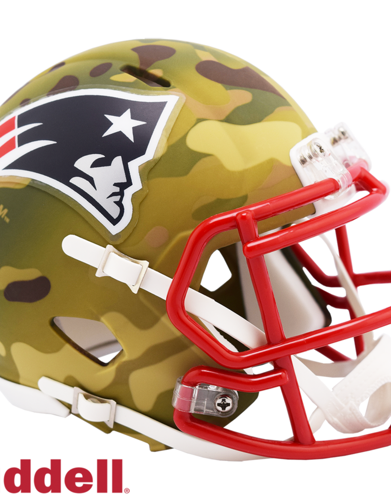 RIDDELL New England Patriots Riddell CAMO Alternate Mini Speed Helmet