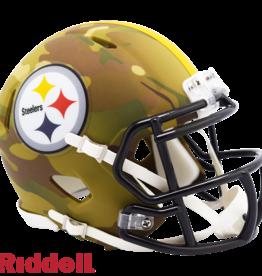 RIDDELL Pittsburgh Steelers Riddell CAMO Alternate Mini Speed Helmet