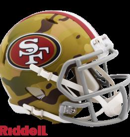 RIDDELL San Francisco 49ers Riddell CAMO Alternate Mini Speed Helmet